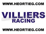 Villiers Racing Tank and Fairing Transfer Decal Sticker DVILL9 BLUE